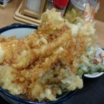 海老がブリッブリ!てんやの「大海老天丼」食べた!