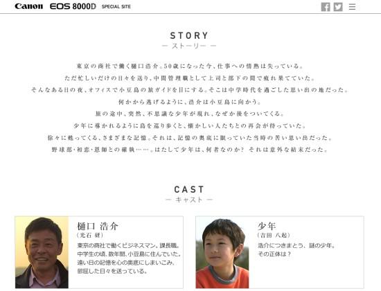 8000D特設サイト