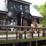 柴犬と触れ合える塩辛屋さん-食彩工房 箱根