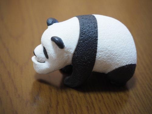 パンダ横顔